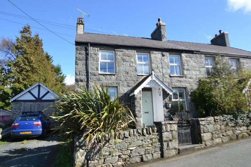 3 Bedrooms Semi Detached House for sale in Craig Y Pandy, Tregarth, Bangor, Gwynedd