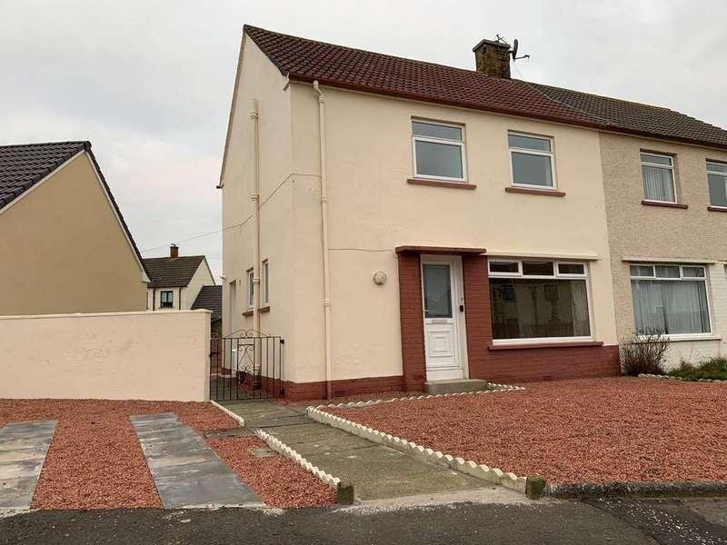 3 Bedrooms Semi Detached House for sale in Whiteside Terrace , Prestwick KA9