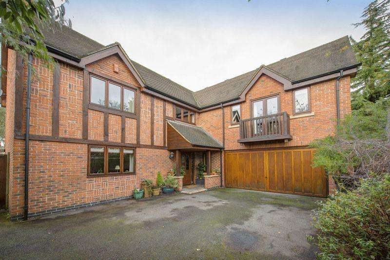 5 Bedrooms Detached House for sale in LINNEY HOUSE, LUCAS LANE