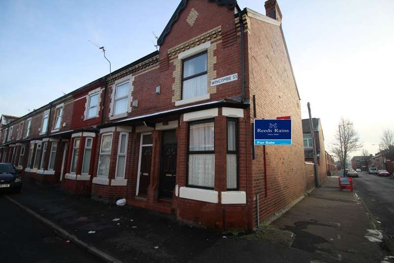 2 Bedrooms Terraced House for sale in Wincombe Street, Manchester, M14