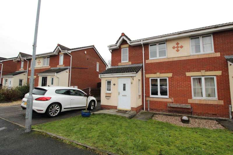3 Bedrooms Semi Detached House for sale in Butterwick Fields, Bolton