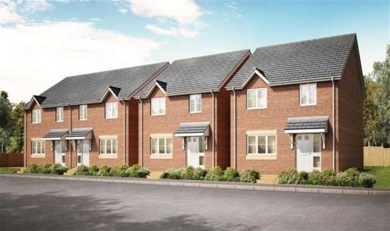 3 Bedrooms Semi Detached House for sale in Nant Mawr Road, Buckley