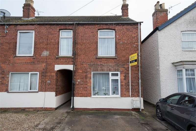 3 Bedrooms Semi Detached House for sale in Wyberton West Road, Boston, Lincolnshire