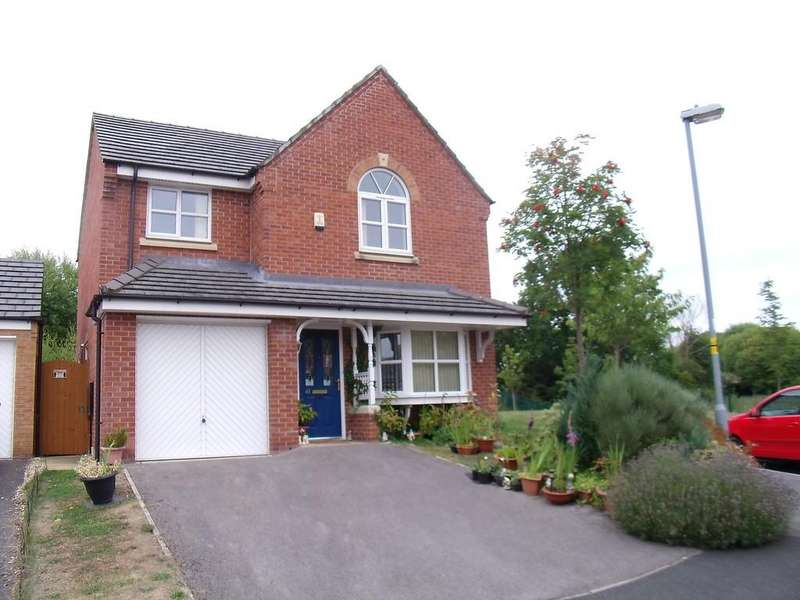 4 Bedrooms Detached House for sale in St Giles Park, Gwersyllt