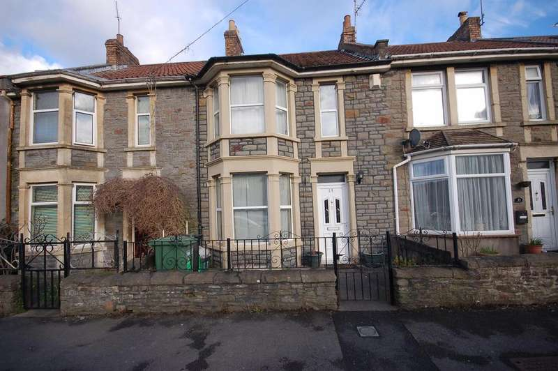 2 Bedrooms Terraced House for sale in Morley Road, Staple Hill, Bristol, BS16 4QS