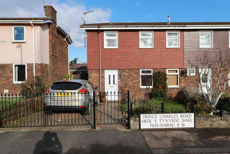 3 Bedrooms Semi Detached House for sale in Prince Charles Road, Raglan, Usk, NP15