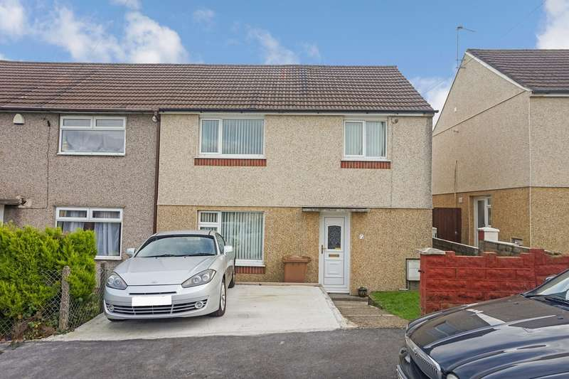 3 Bedrooms Semi Detached House for sale in Pinewood Court, Pontllanfraith, Blackwood, NP12