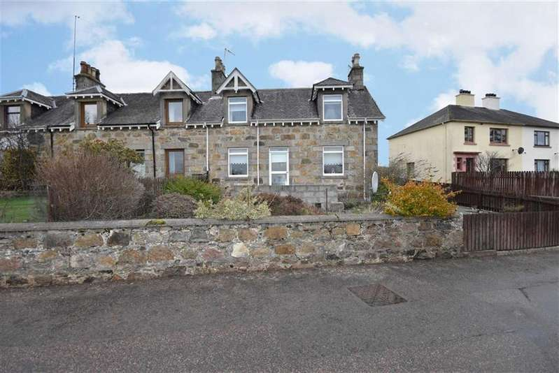 3 Bedrooms End Of Terrace House for sale in Ballindalloch / Aberlour / Advie