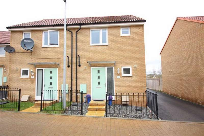2 Bedrooms Semi Detached House for sale in Thistle Close, Lyde Green, Bristol