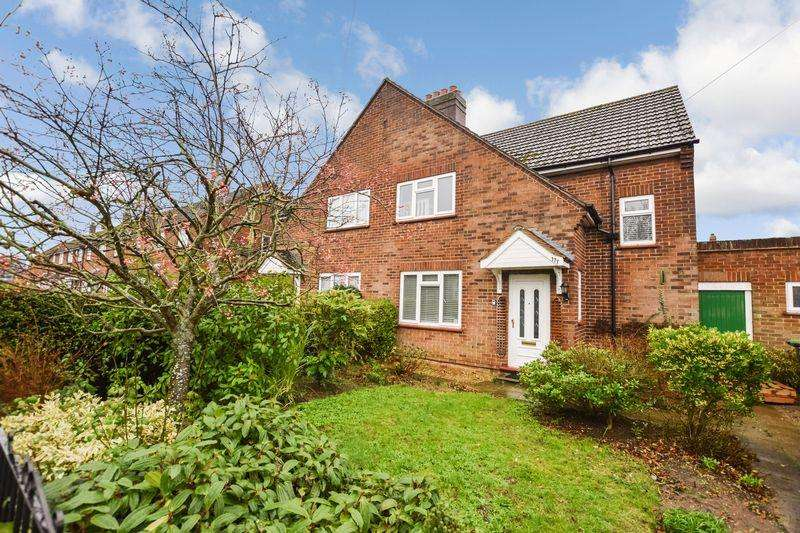 3 Bedrooms Semi Detached House for sale in Harrowden Road, Bedford
