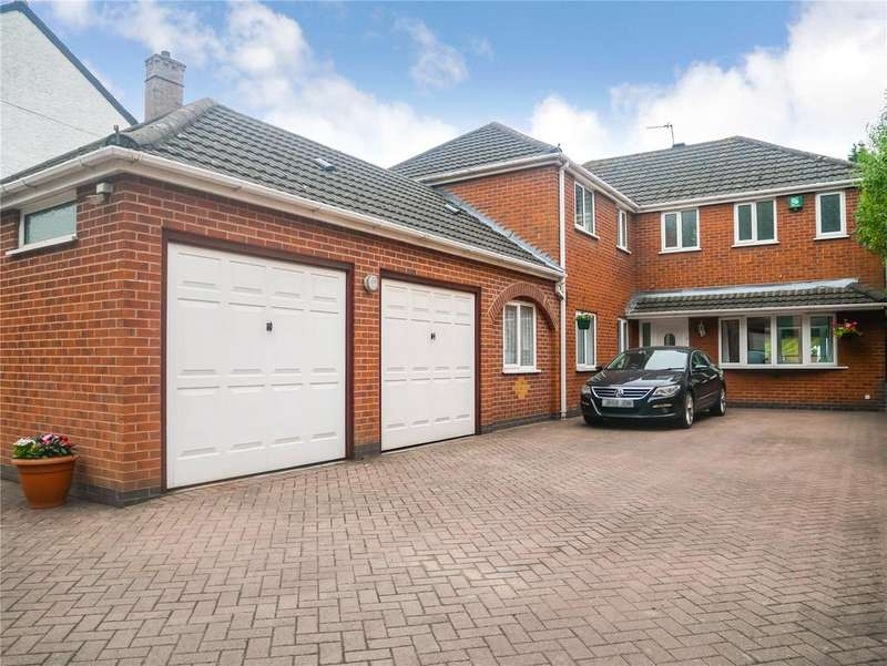 5 Bedrooms Detached House for sale in Hinckley Road, Leicester, LE3