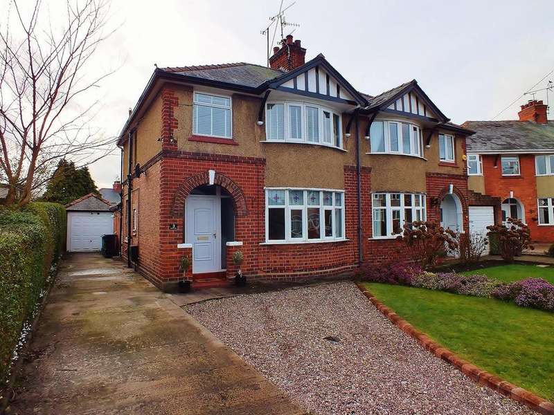 3 Bedrooms Semi Detached House for sale in Gloucester Drive, Wrexham