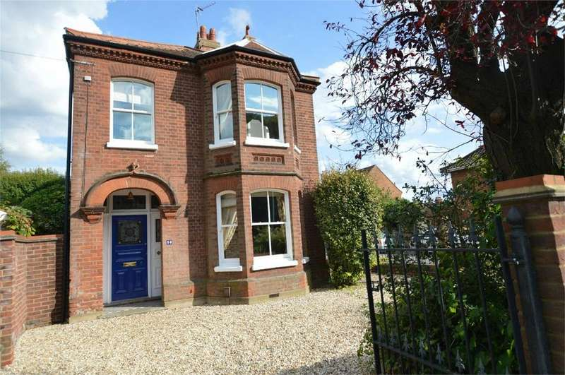 4 Bedrooms Detached House for sale in Constitution Hill, Norwich