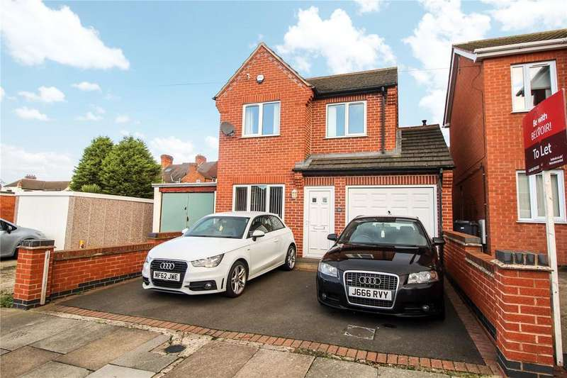 3 Bedrooms Detached House for sale in Hampshire Road, Leicester, LE2