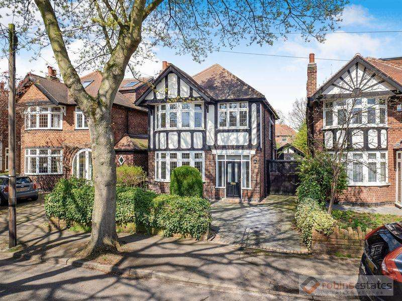 3 Bedrooms Detached House for sale in Harrow Road, Wollaton, Nottingham