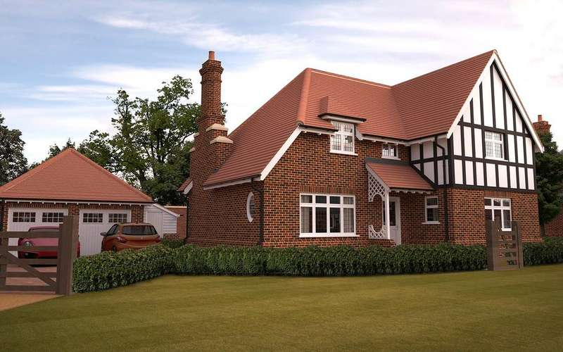 4 Bedrooms Detached House for sale in Woodbridge, 4 Petwood Oaks, Woodhall Spa, LN10