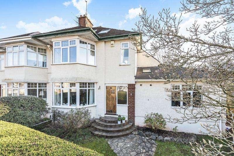 4 Bedrooms Semi Detached House for sale in Kewstoke Road, Bristol
