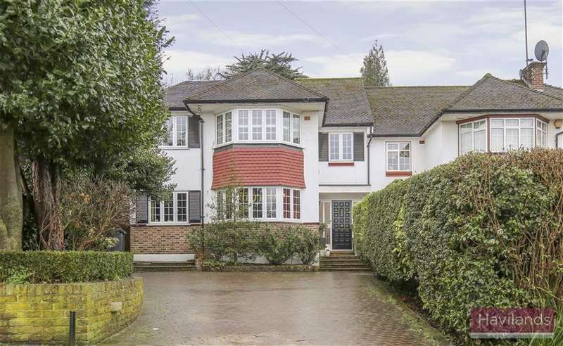 5 Bedrooms Semi Detached House for sale in Laurel Drive, Winchmore Hill, London