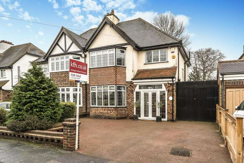3 Bedrooms Semi Detached House for sale in Wood Ride, Petts Wood