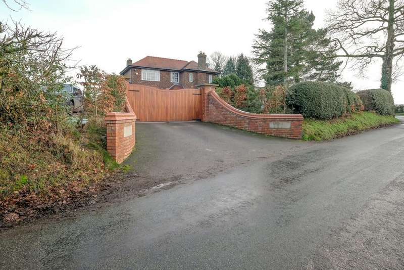 3 Bedrooms Detached House for sale in Crouchley Lane, Lymm