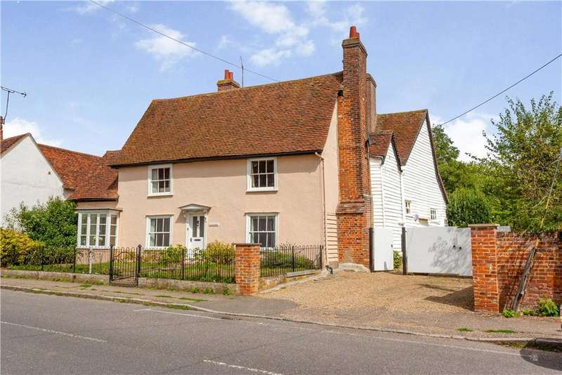 5 Bedrooms Detached House for sale in Chelmsford Road, Felsted, Dunmow, CM6
