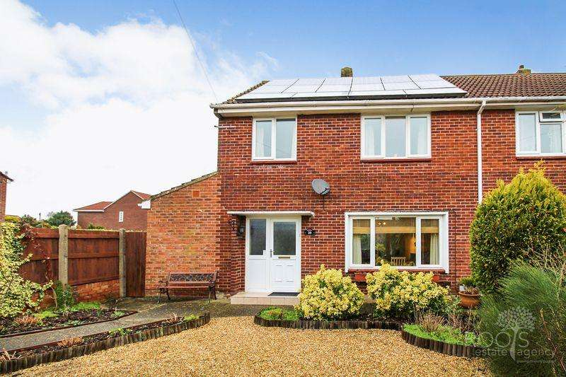 3 Bedrooms Semi Detached House for sale in Longcroft Road, Thatcham