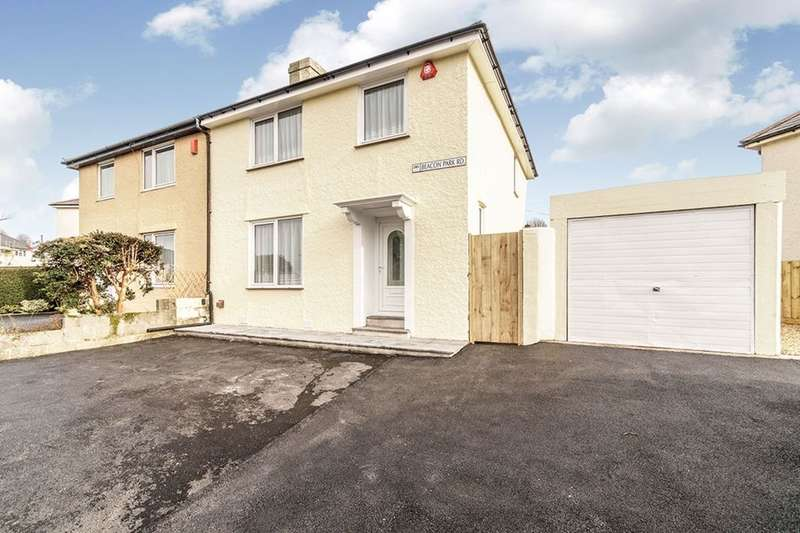 3 Bedrooms Semi Detached House for sale in Beacon Park Road, Plymouth, PL2