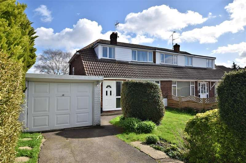 3 Bedrooms Semi Detached House for sale in Rosecroft Way, Shinfield, Reading, RG2
