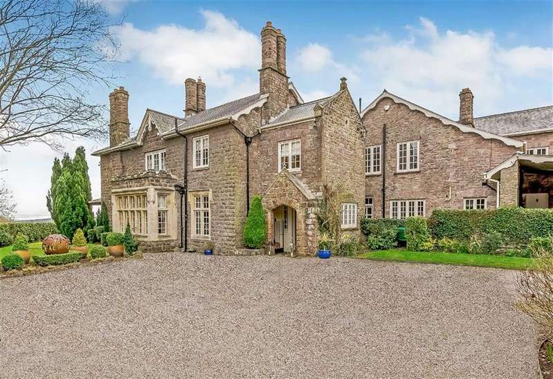 7 Bedrooms Detached House for sale in Red House Lane, Shirenewton, Chepstow, Monmouthshire