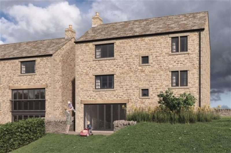 4 Bedrooms Detached House for sale in The Paddock, Wellhouse Lane, Penistone, Sheffield, S36