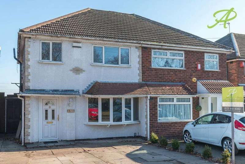 3 Bedrooms Semi Detached House for sale in Aldridge Road, Great Barr, B44