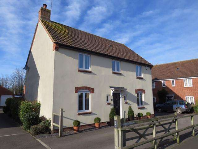 4 Bedrooms Detached House for sale in Shrewsbury Road, Yeovil, BA21
