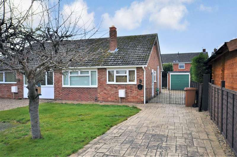 2 Bedrooms Bungalow for sale in Elgin Drive, Melton Mowbray, Leicestershire