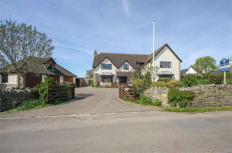 4 Bedrooms Detached House for sale in Manna House, Redmans Hill, BLACKFORD, Wedmore, Somerset