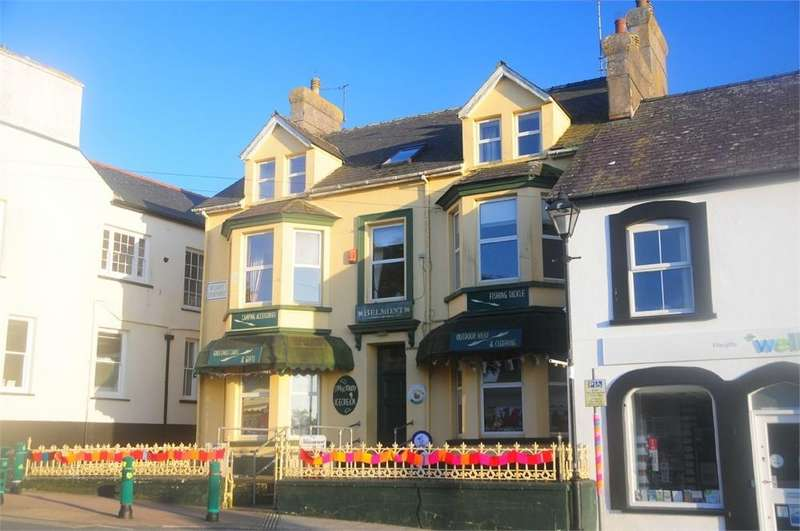5 Bedrooms End Of Terrace House for sale in Belmont House, 12 Cross Square, St Davids, Pembrokeshire
