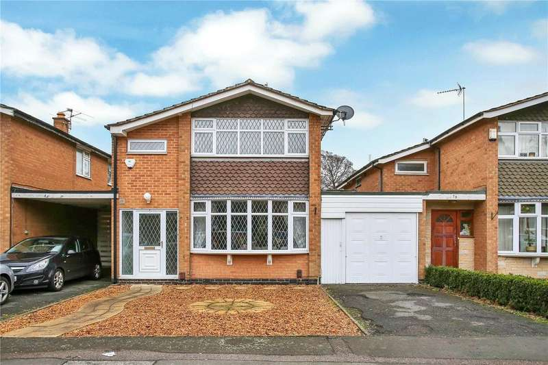 4 Bedrooms Detached House for sale in Brookfield Avenue, Loughborough, Leicestershire