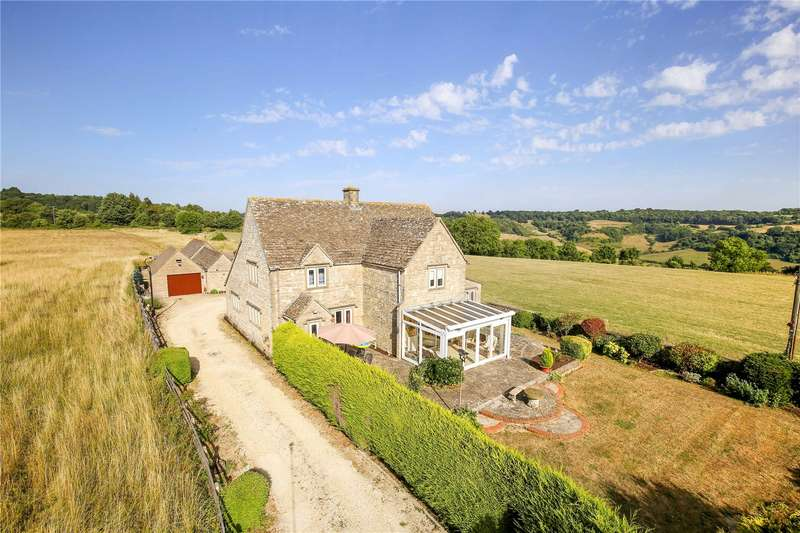 4 Bedrooms Detached House for sale in Bowcott, Wotton-under-Edge, Gloucestershire, GL12
