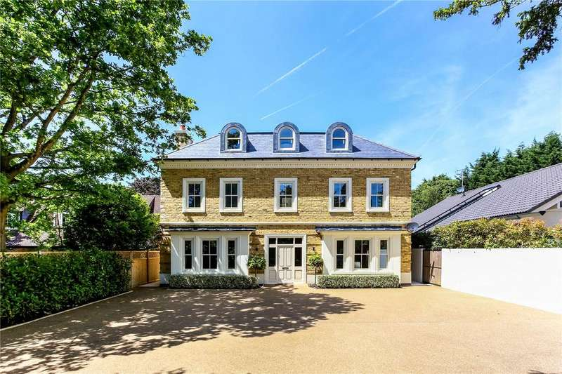 5 Bedrooms Detached House for sale in Kingston Hill, Kingston upon Thames, Surrey, KT2