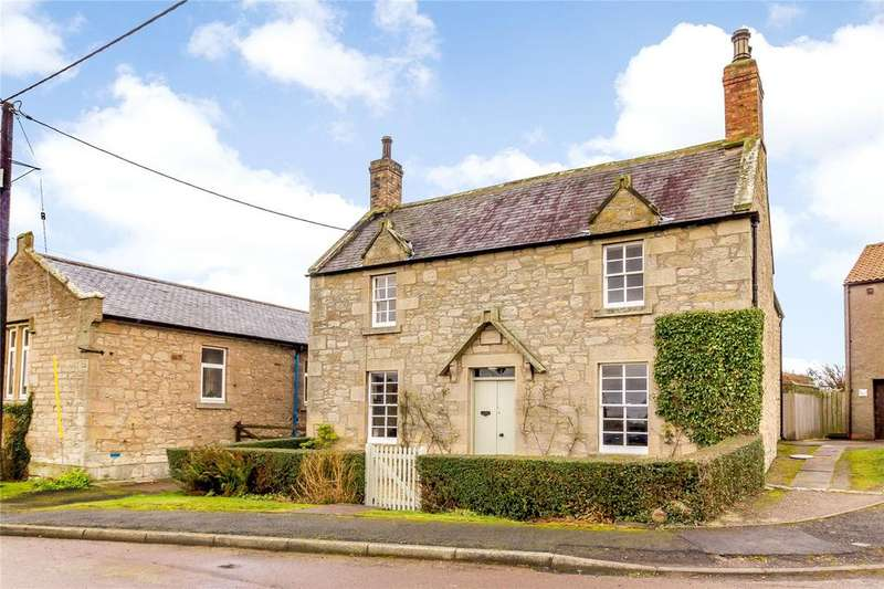 3 Bedrooms Detached House for sale in The Old School House, Knowe Head, Cornhill On Tweed, Northumberland