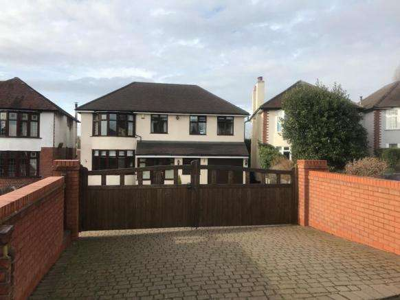 4 Bedrooms Detached House for sale in Walsall Road, Churchbridge, Cannock, Staffordshire