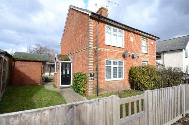2 Bedrooms Semi Detached House for sale in Yorktown Road, Sandhurst, Berkshire