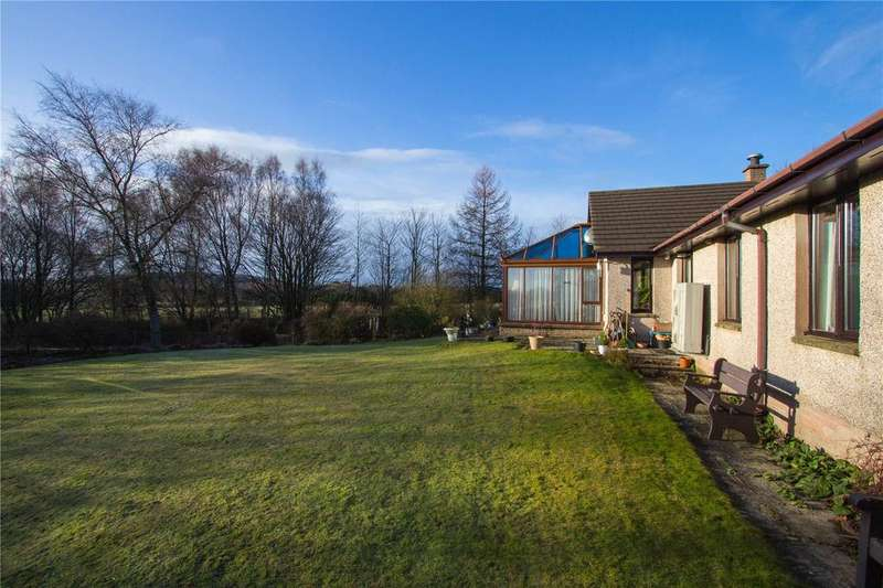 3 Bedrooms Detached Bungalow for sale in Kyleakin, Muir Of Lownie, By Forfar, Angus, DD8