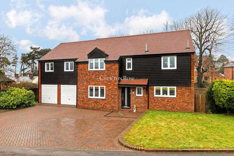5 Bedrooms Detached House for sale in Brickhill Manor Court, Milton Keynes