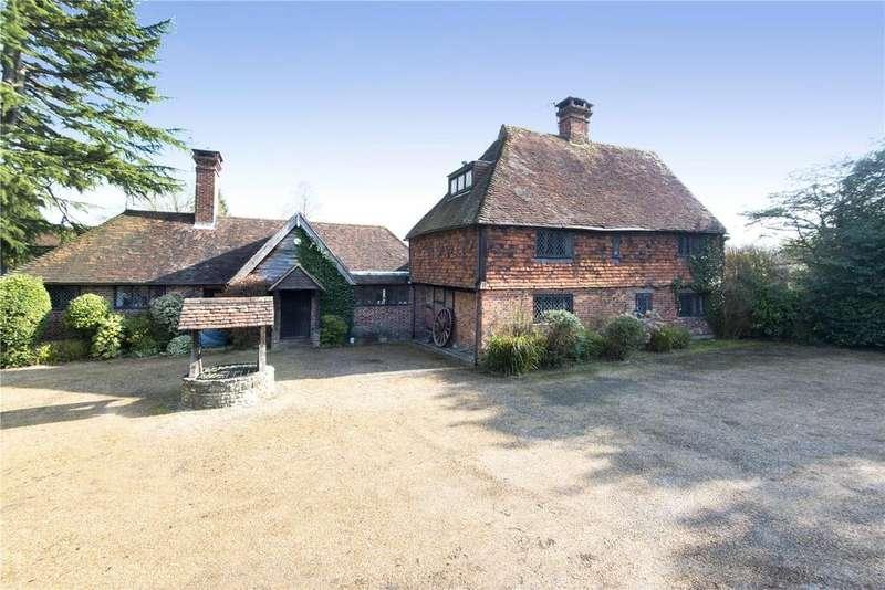 6 Bedrooms Detached House for sale in Stick Hill, Cowden Pound, Nr Edenbridge, Kent, TN8