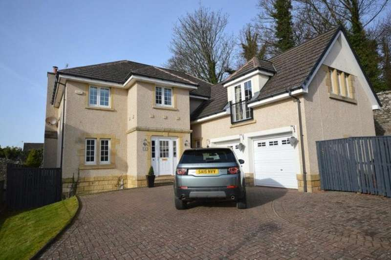 5 Bedrooms Detached House for sale in Fernie Gardens, Cardross G82 5QJ