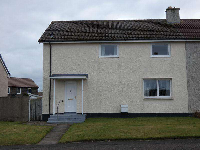 4 Bedrooms Semi Detached House for sale in 63 Castlegreen Road, Thurso