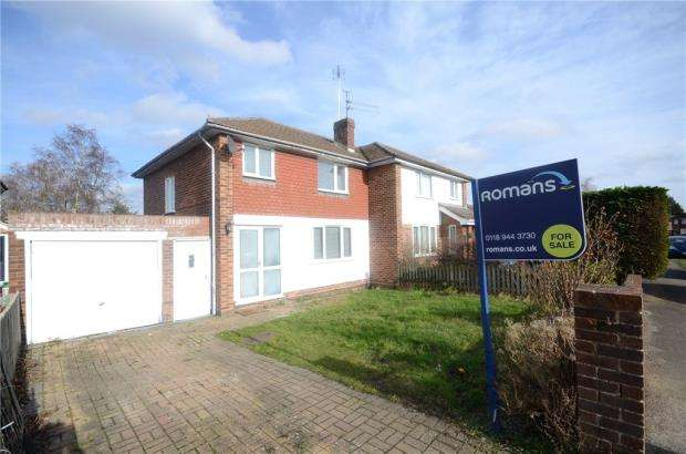 3 Bedrooms Semi Detached House for sale in Malone Road, Woodley, Reading