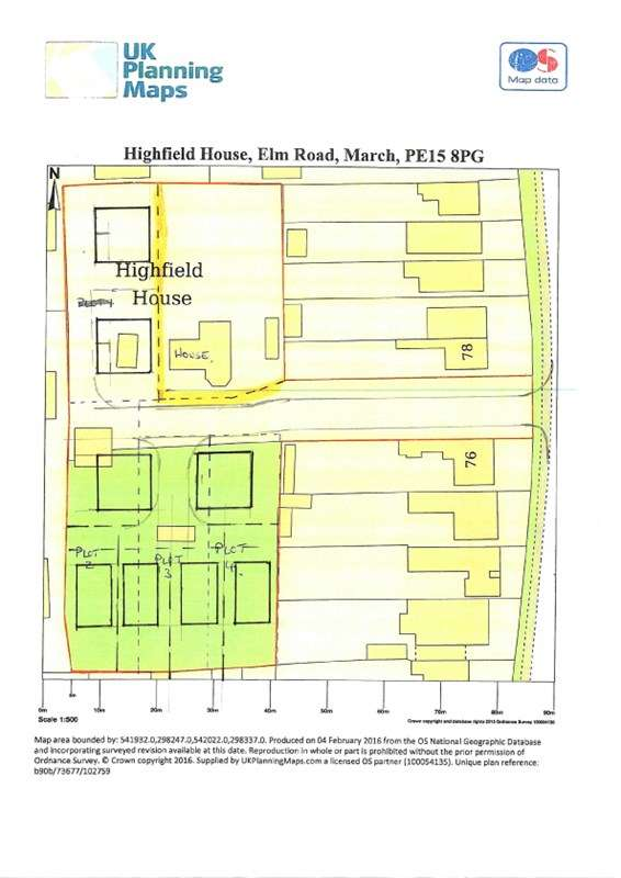 Land Commercial for sale in Elm Road, March