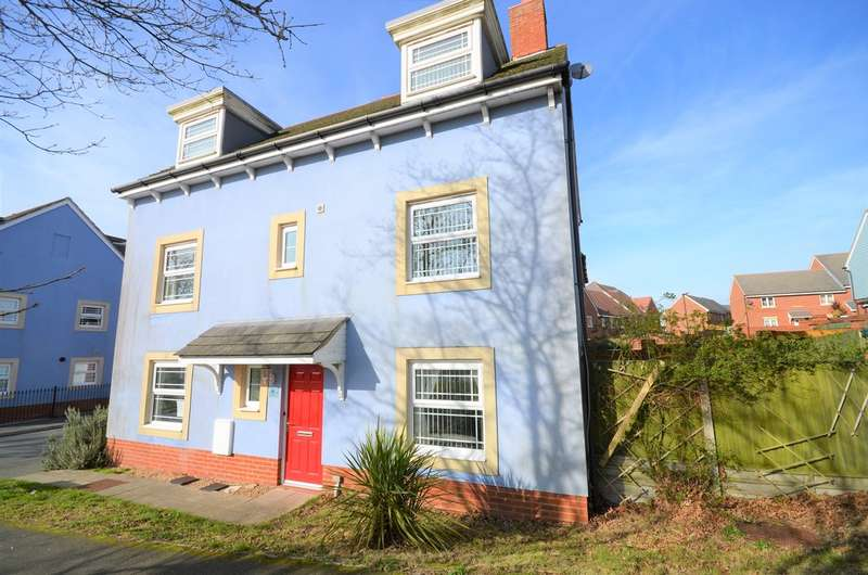 4 Bedrooms Semi Detached House for sale in East Cowes, Isle Of Wight