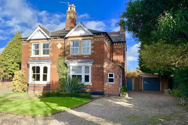 4 Bedrooms Semi Detached House for sale in Station Road, Kirby Muxloe, Leicester, LE9